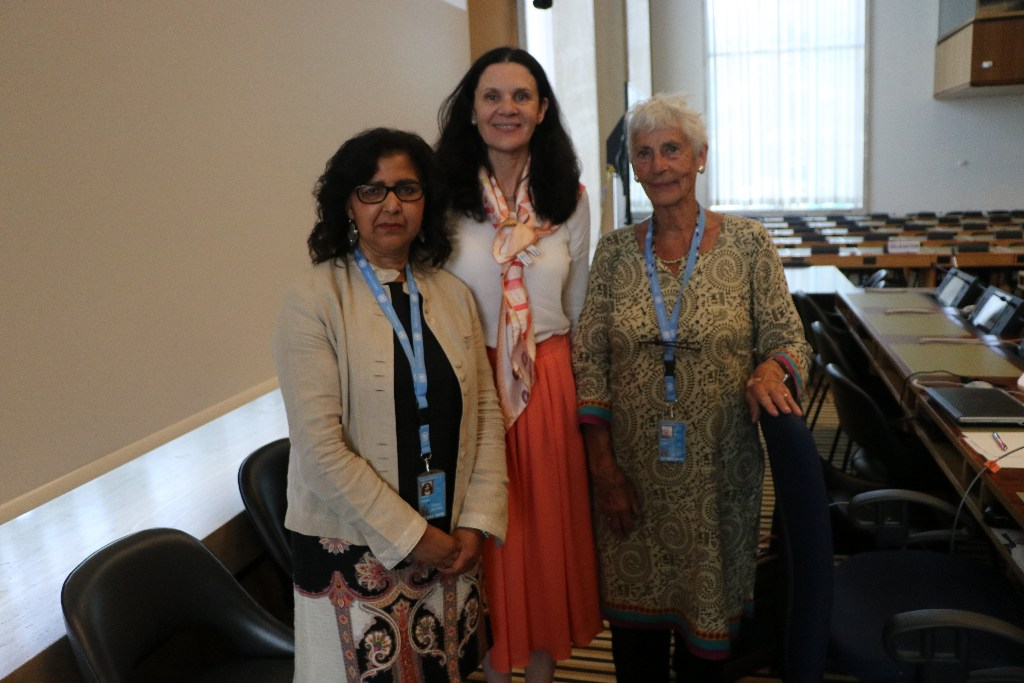 Dossier on widowhood to CEDAW committee in Geneva (2018)