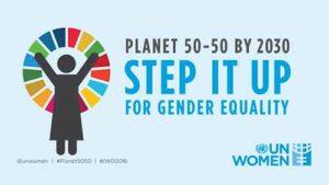 UN Planet 50 50 Gender Equality