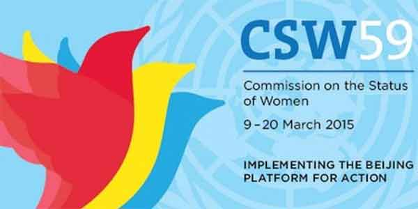 Statement to 59th CSW Review of Beijing+20 (2014)