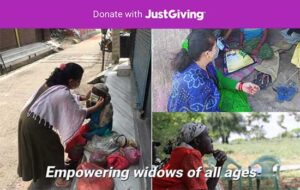 Help us empower widows of ages - donate now with JustGiving