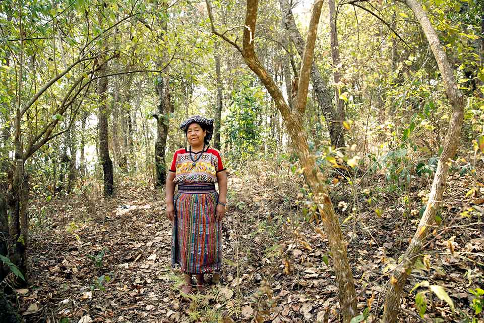 Rosalia Tuyuc Velásquez, from San Juan Comalapa, Guatemala, has not seen her husband since 23 May 1984, when he was captured by the army during the 36-year-long armed conflict between the military and guerilla groups that killed at least 200,000 people, mostly indigenous. Photo: UN Women/Ryan Brown