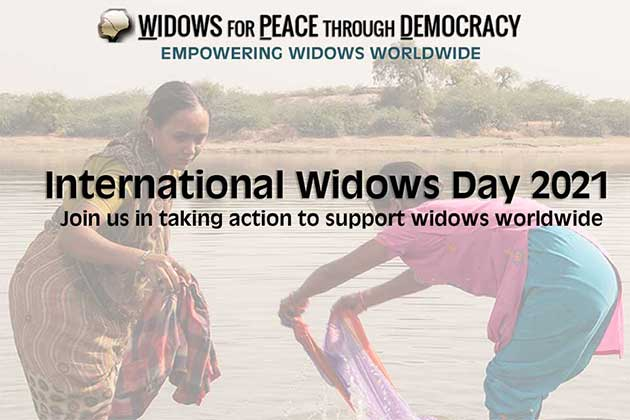 WPD - Join us in taking action on Widows Day 2021